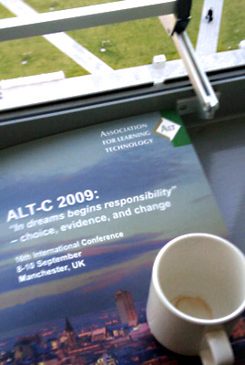 A room with a view at ALT-C 2009