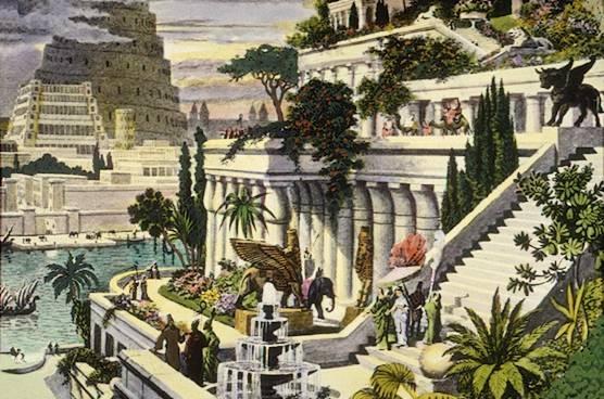 Martin Heemskerck Hanging Gardens of Babylon
