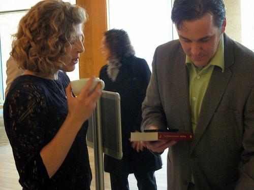 Lindsay Jordan and Dave Cormier